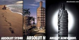 Водка «Абсолют»: абсолютная форма бутылки