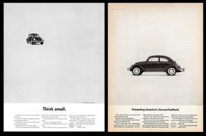 Volkswagen – подумай о малом